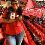 michelle atlien brown falcons playoff 2013
