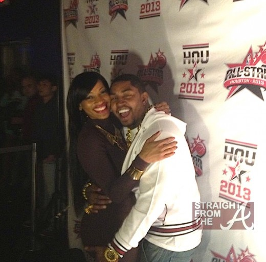Erica Dixon Lil Scrappy All Star 2013