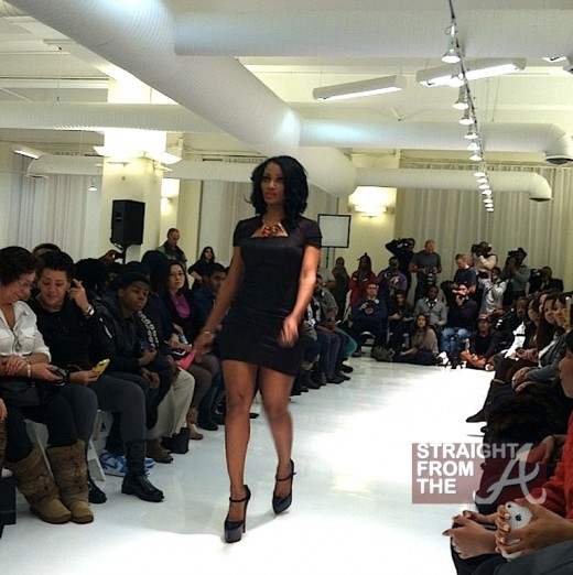 Erica Dixon NYFW 2013 SFTA 2
