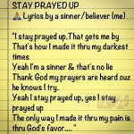 Kandi Stay Prayed Up Lyrics