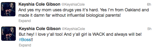 Keyshia Cole Tweet 3