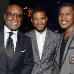 LA Reid Usher Babyface - 55th Annual Grammy Pre Celebration