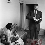 Malcom X and Betty Shabazz