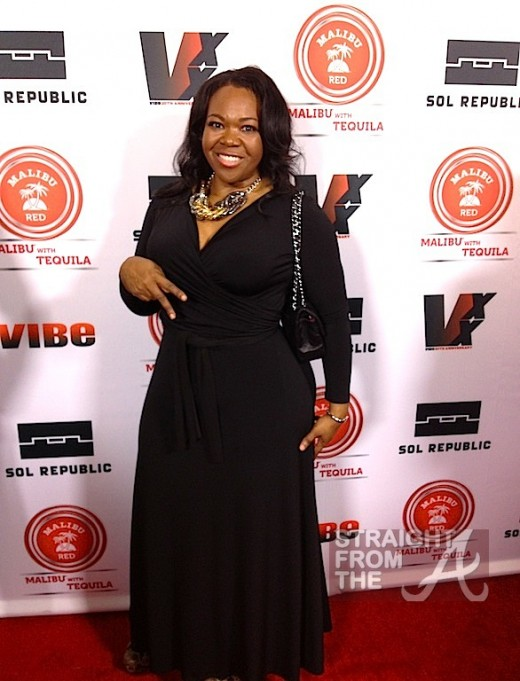 Michelle ATLien Brown 2013 Vibe Impact Awards