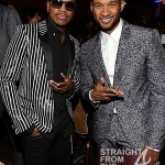 NeYo and Usher - 55th Annual Grammy Pre Celebration