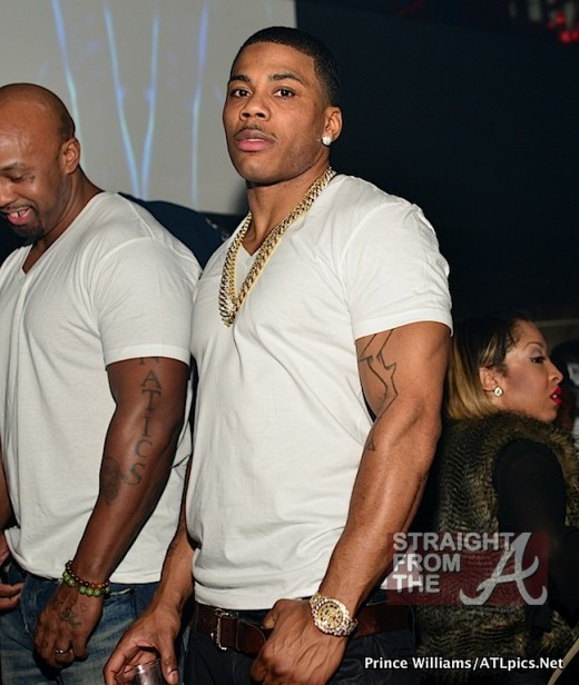 Nelly and New Girlfriend ATL SFTA-2