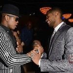 Neyo and Usher - 55th Annual Grammy Pre Celebration 1