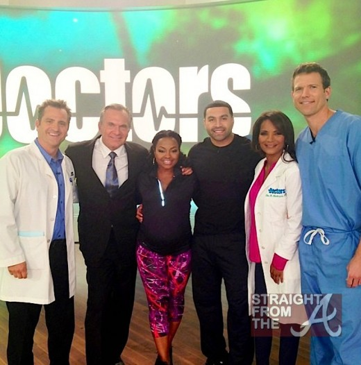 Phaedra Parks Apollo Nida The Doctors StraightFromTheA