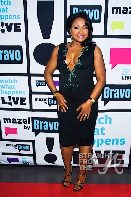 Phaedra Parks Pregnant WWHL SFTA 1