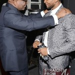 Reid and Usher - 55th Annual Grammy Pre Celebration