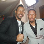 Stylist Kenneth Daniels and Nick Cannon - Vibe Impact StraightFromTheA