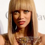 Tyra Banks Clive Davis Grammy Party 1