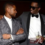 Usher and Diddy - 55th Annual Grammy Pre Celebration