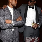 Usher and Diddy - 55th Annual Grammy Pre Celebration 3