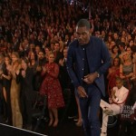Grammy Shade! Chris Brown Sits During Frank Oceans Standing Ovation… [VIDEO]