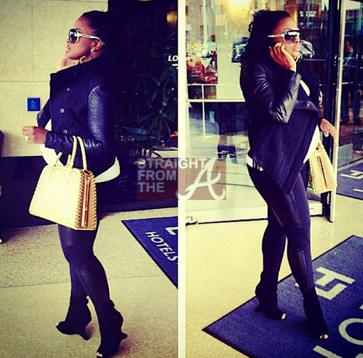 phaedra parks baby bump 2013