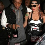 Date Night: New Parents Wiz Khalifa & Amber Rose Party In Hollywood… [PHOTOS]