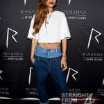 Rihanna's 'Double Top' Cropped Jeans… Hot or Not? + Behind The Scenes of 'STAY'…  [PHOTOS]