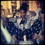 Is This Art? Joseline Hernandez Gets Nude Body Painted… [PHOTOS]