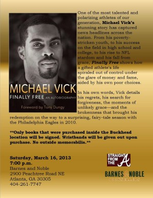 mike vick atlanta flyer