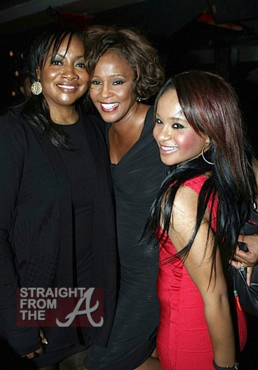 pat houston whitney bobbi kristina