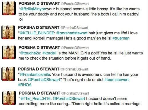 Porsha Stewart Hair Weave