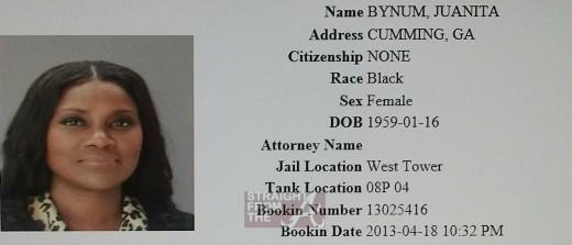 Juanita Bynum arrest