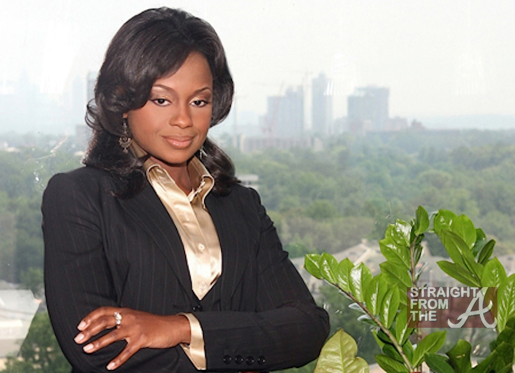 Lawyer Phaedra Parks