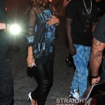 Quick Pics: Rihanna Hits ATL Strip Club With T.I. And Tiny… [PHOTOS]