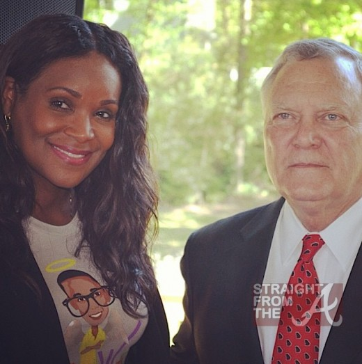 Tameka Raymond Gov Nathan Deal StraightFromTheA