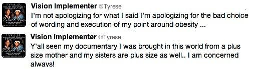 Tyrese Tweet