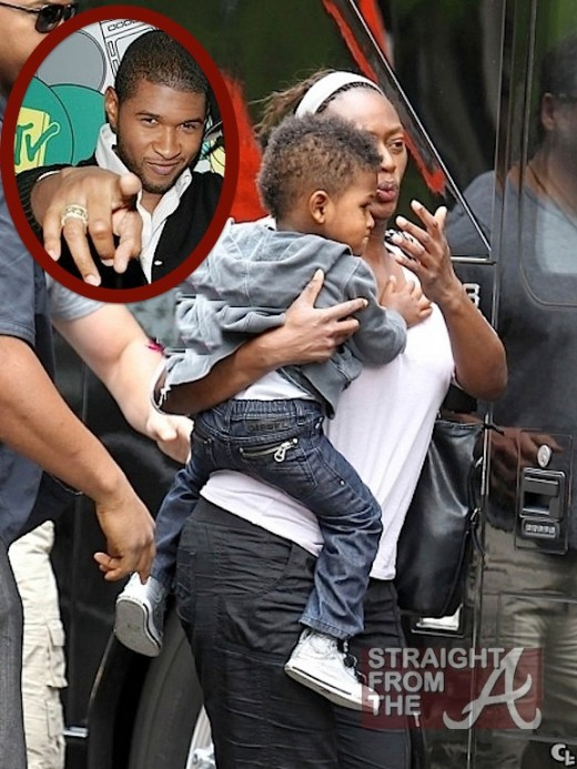 NEWSFLASH! Usher Raymond's Nanny Sues For Unpaid Wages… [PHOTOS]