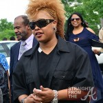 Da Brat - Chris Kelly Funeral 050912