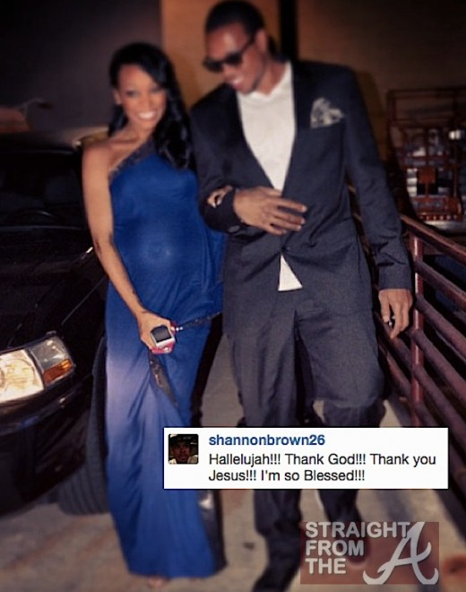 Monica Pregnant Shannon Brown SFTA