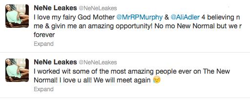 Nene Tweet
