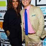 Sheree Whitfield Andy Cohen WWHL StraightFromTheA