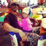 Stevie J and Daughter Eva SFTA