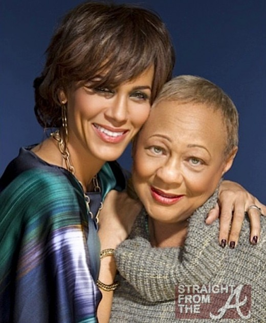Susan Parker and daughter Nicole Ari Parker