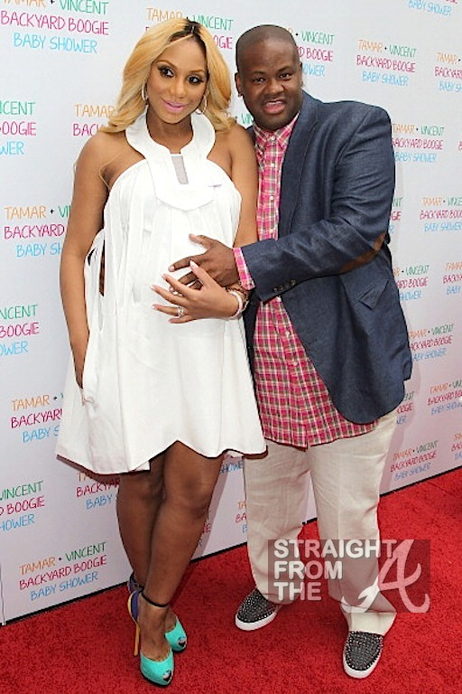 Tamar Braxton and Baby