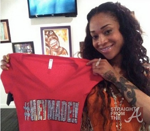 mimi faust hey made tshirt