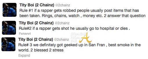 2Chainz Tweets SFTA