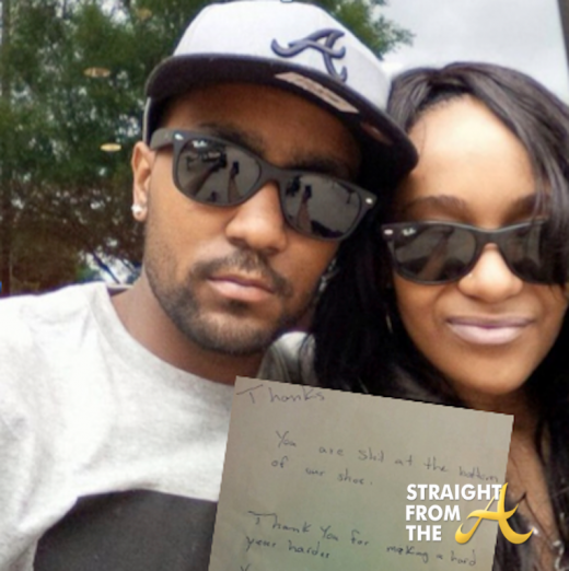 Bobbi Kristina and Nick Gordon - Angry Letter SFTA