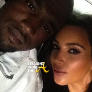 Kim Kardashian Kanye West SFTA-1