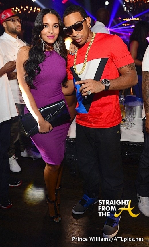Boo'd Up – Ludacris & Eudoxie Hit The Club… [PHOTOS]