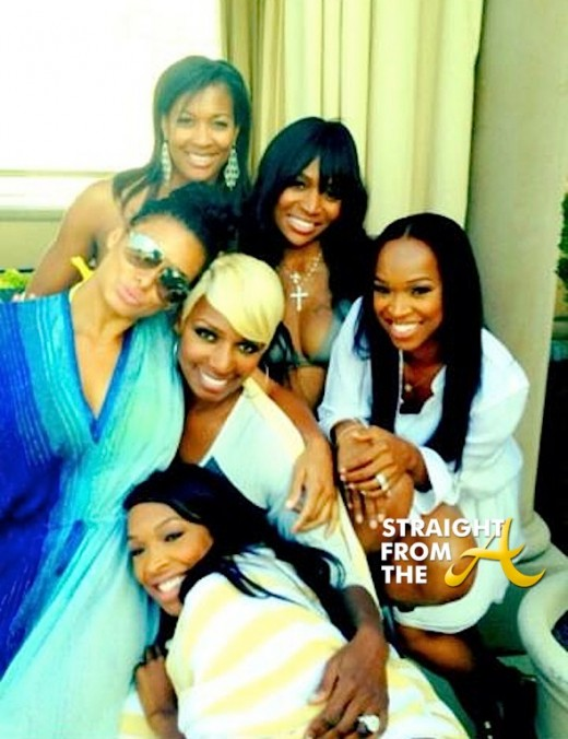 Nene Leakes Bridesmaids in LA StraightFromTheA 3