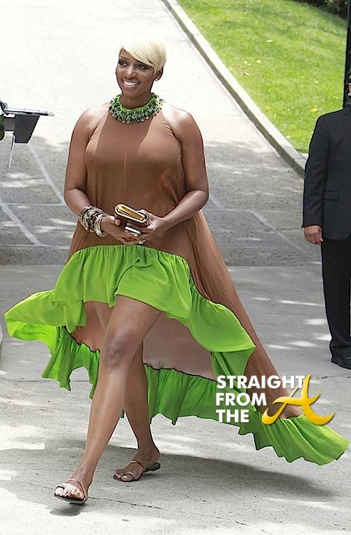 Nene Leakes Kim Kardashian Baby Shower StraightFromTheA 4