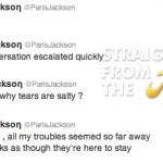 Michael Jackson's Daughter Paris Hospitalized After Possible Suicide Attempt…