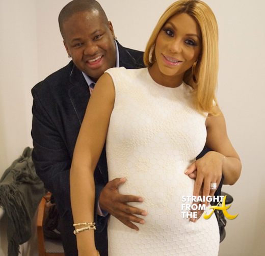 Tamar Braxton Shares 1st Photo of Baby 'Logan Vincent Herbert' + Sends Special Father's Day Message…[PHOTOS]