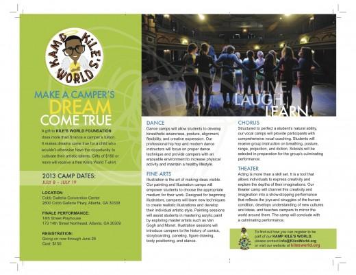 kiles world brochure page 2