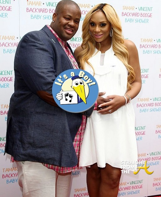 Tamar Braxton and her husband Vincent Herbert welcomed a baby boy into ...